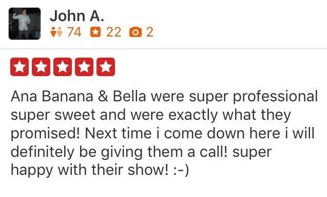 Yelp Review San Diego Strippers